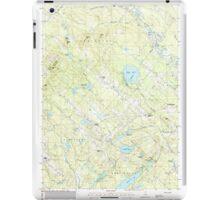 USGS TOPO Map New Hampshire NH Baxter Lake 329477 1987 24000 iPad Case/Skin