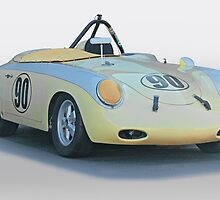 1961 Porsche 356 'Race Prepped' Roadster by DaveKoontz