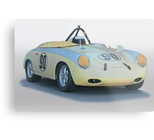 1961 Porsche 356 'Race Prepped' Roadster Metal Print