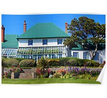 Governor's House, Stanley, Falkland Islands Poster