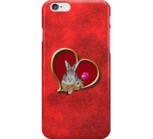 Mother's Day Bunny Rabbit iPhone Case/Skin