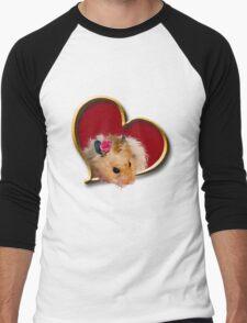 Mother's Day Hamster Men's Baseball ¾ T-Shirt
