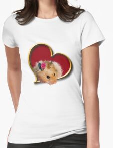 Mother's Day Hamster Womens Fitted T-Shirt