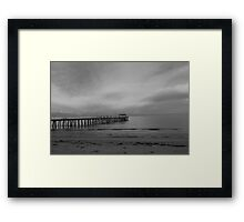 Henley Jetty - A beautiful morning  Framed Print