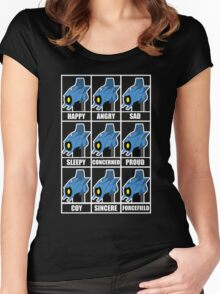 The Many Faces of Whirl Women's Fitted Scoop T-Shirt