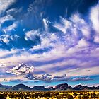 Moody Sky - Kata Tjuta - The Olgas by Georgie Sharp