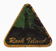 Rook Island Luggage Sticker Alt Colour by universalfreak