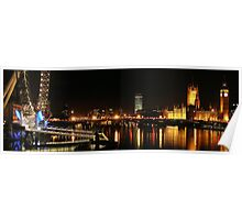 Westminster and the Wheel Poster