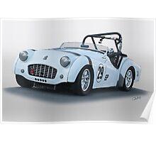 1962 Triumph TR3 B Poster