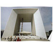 La Grande Arche de La Défense, Paris, France Poster