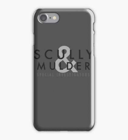 X Files T-Shirt iPhone Case/Skin