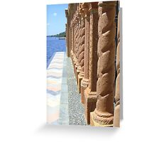 Ringling Columns Greeting Card