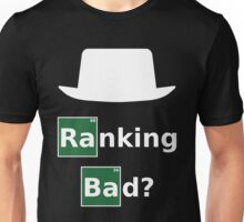 Ranking Bad? White Hat SEO - Parody Design for Online Marketers Unisex T-Shirt