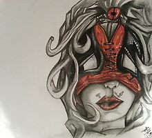 lady deadpool by BungEyed