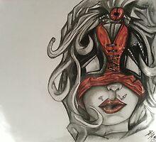 lady deadpool by BungEyed