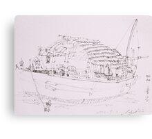 Hoi An III (Boat) Canvas Print