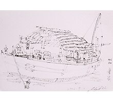 Hoi An III (Boat) Photographic Print