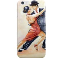 Tango Dancers iPhone Case/Skin