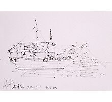 Hoi An IV (Ship) Photographic Print