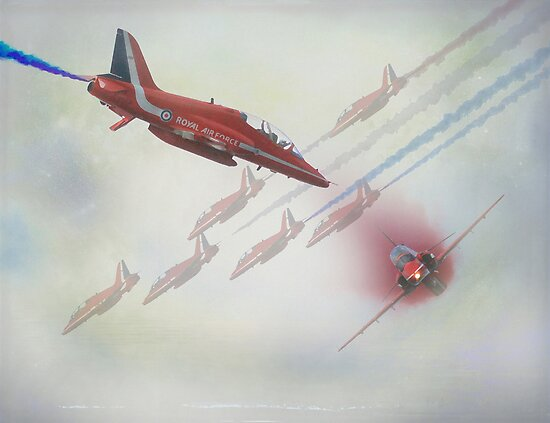 Red Arrows by peaky40