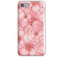 Pink Flower Cloud iPhone Case/Skin