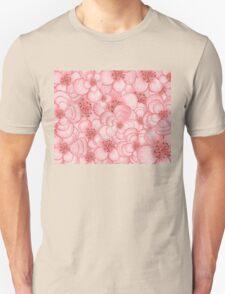 Pink Flower Cloud T-Shirt