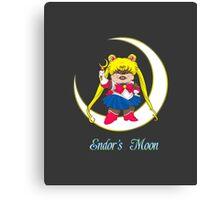 Endor's Moon Canvas Print