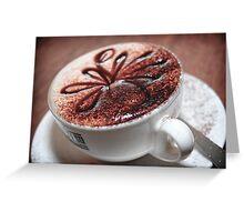 Cappuccino II Greeting Card