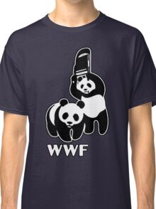 WWF (black and white ) Classic T-Shirt