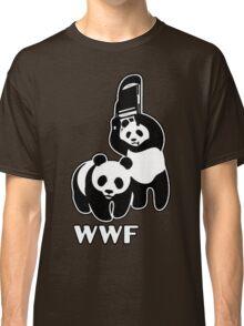 WWF (black and white ) Classic T-Shirt