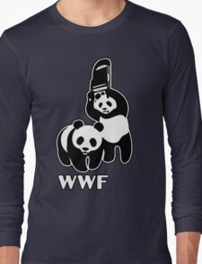 WWF (black and white ) Long Sleeve T-Shirt