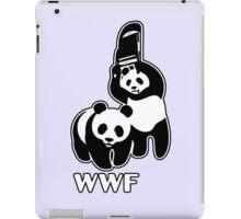 WWF (black and white ) iPad Case/Skin