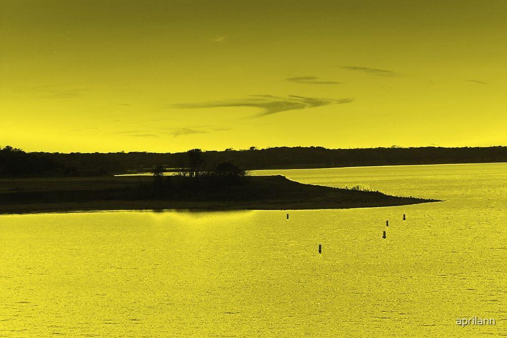 Sunset Over Lake Texoma - Texas, USA by aprilann