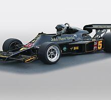 1976 Lotus Formula One Racecar by DaveKoontz