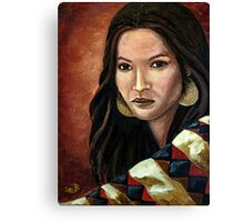 The Southwest Blanket Canvas Print