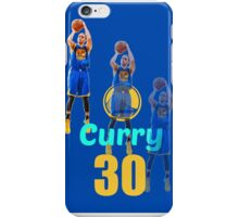 NBA Stephen Curry Fading Jumpshot iPhone Case/Skin