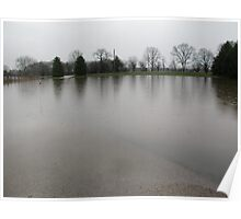 flooded in by Spring rains Poster