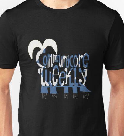 Communicore Weekly Five Legged Goat Logo Unisex T-Shirt