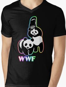 WWF [color ver.] Mens V-Neck T-Shirt