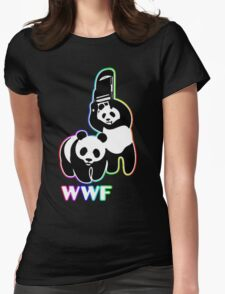 WWF [color ver.] Womens Fitted T-Shirt