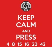 Keep Calm & Press... One Piece - Short Sleeve