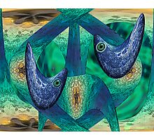 Fractal Fish Photographic Print
