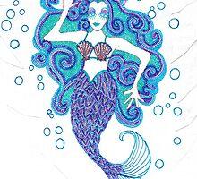 Blue Mermaid by HDEvans