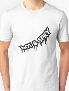 Hot And Spicy Graffiti T-Shirt