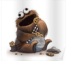 Cookie Wookie Monster Poster