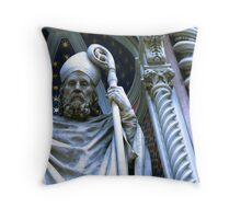 Wizard Statue in Florence, Italy Throw Pillow
