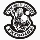 Twin Suns of Anarchy - sticker by TedDastickJr
