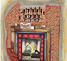 Sherlock's Fire Place by BEELER