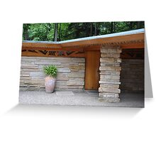 Kentuck Knob Greeting Card