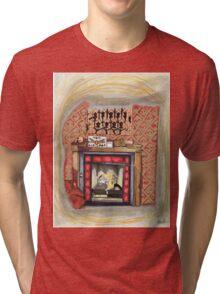 Sherlock's Fire Place Tri-blend T-Shirt